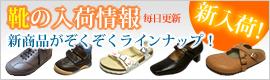靴の入荷情報